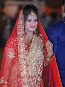 bridal makeover for wedding in udaipur by stylo salon in udaipur