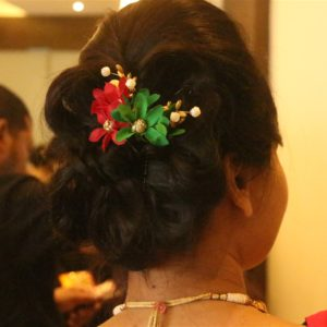 bridal makeover services by professional bridal hairstylist